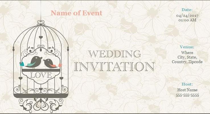 ONLINE CUSTOMIZED INVITATION