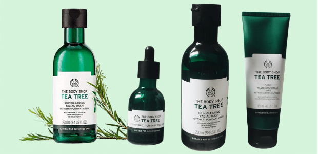 'The Body Shop' Tea Tree Items Are Heavenly For A Magical Skin