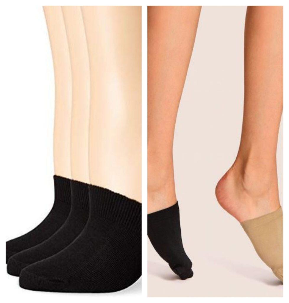 Half toe socks