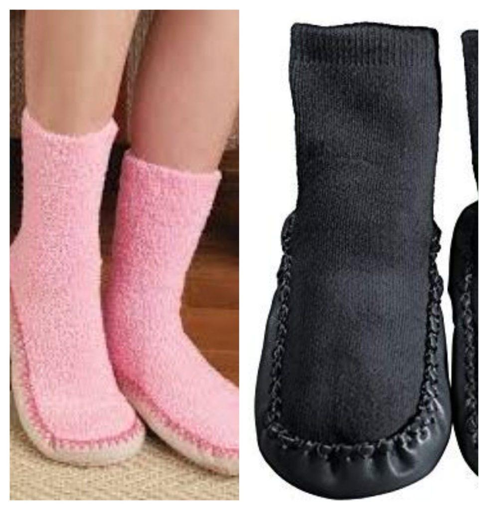 Mocassin Slipper Socks