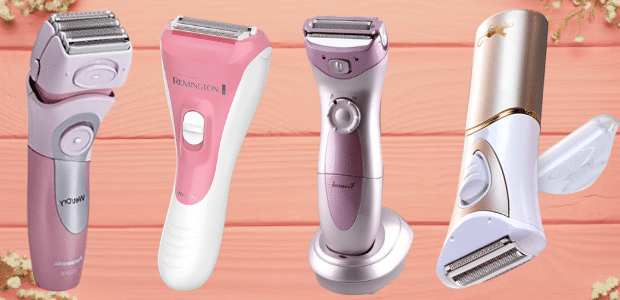 7 Best Branded and Cheap Electric Razors for Women 2021