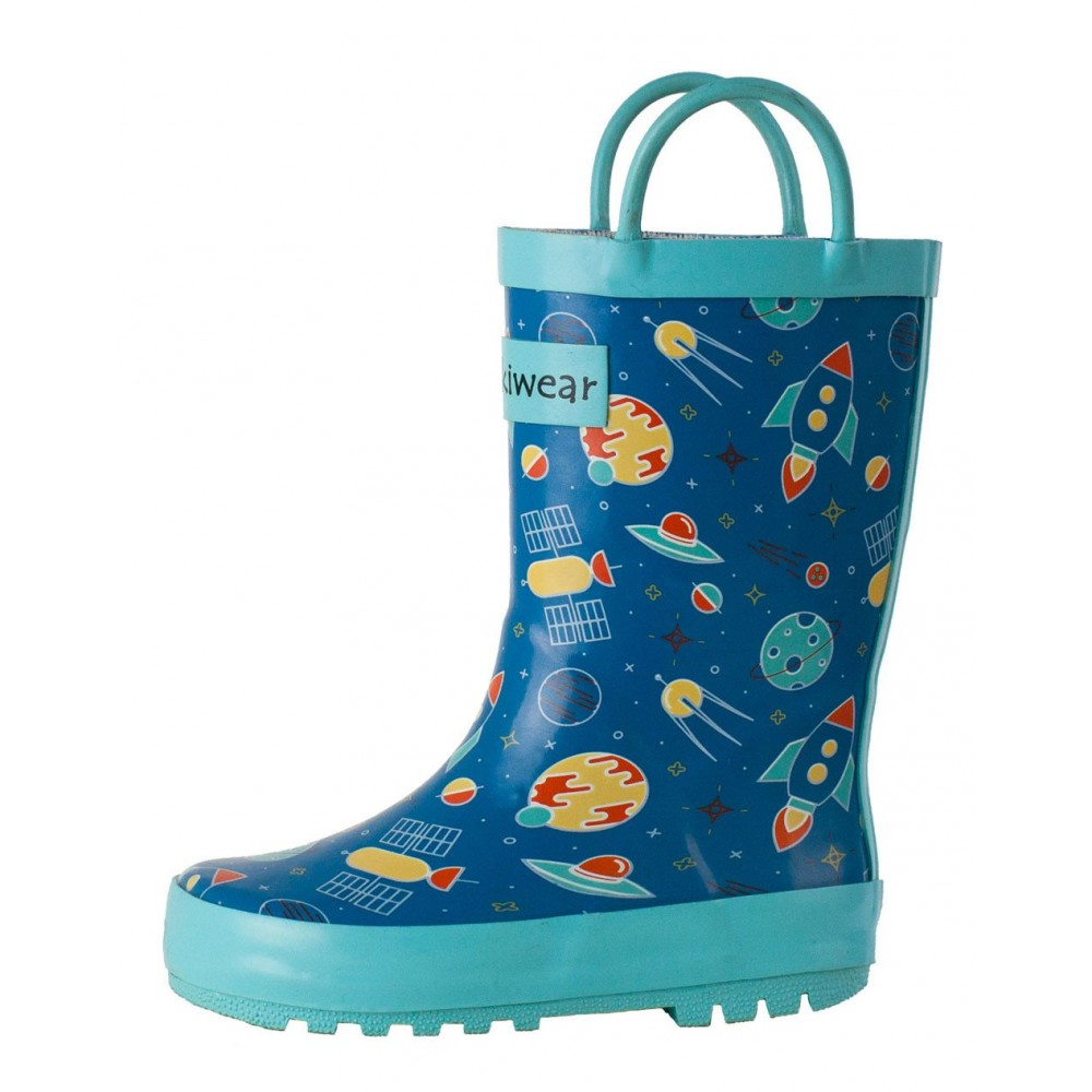 OAKI Kids Rain Boots Waterproof Rubber