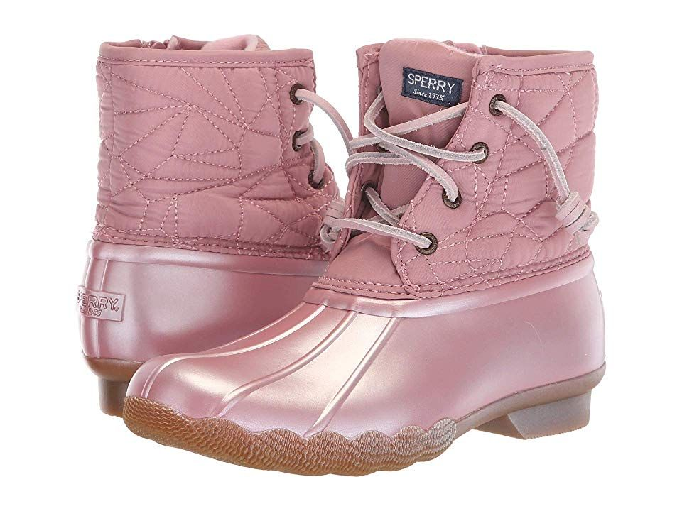 Sperry Kids Rain Boots Girl's Saltwater