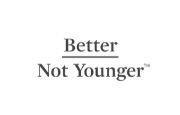 Better Not Younger Logo