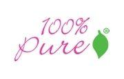 100 percent pure.com logo