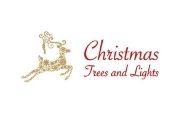 Christmas Trees And Lights Logo