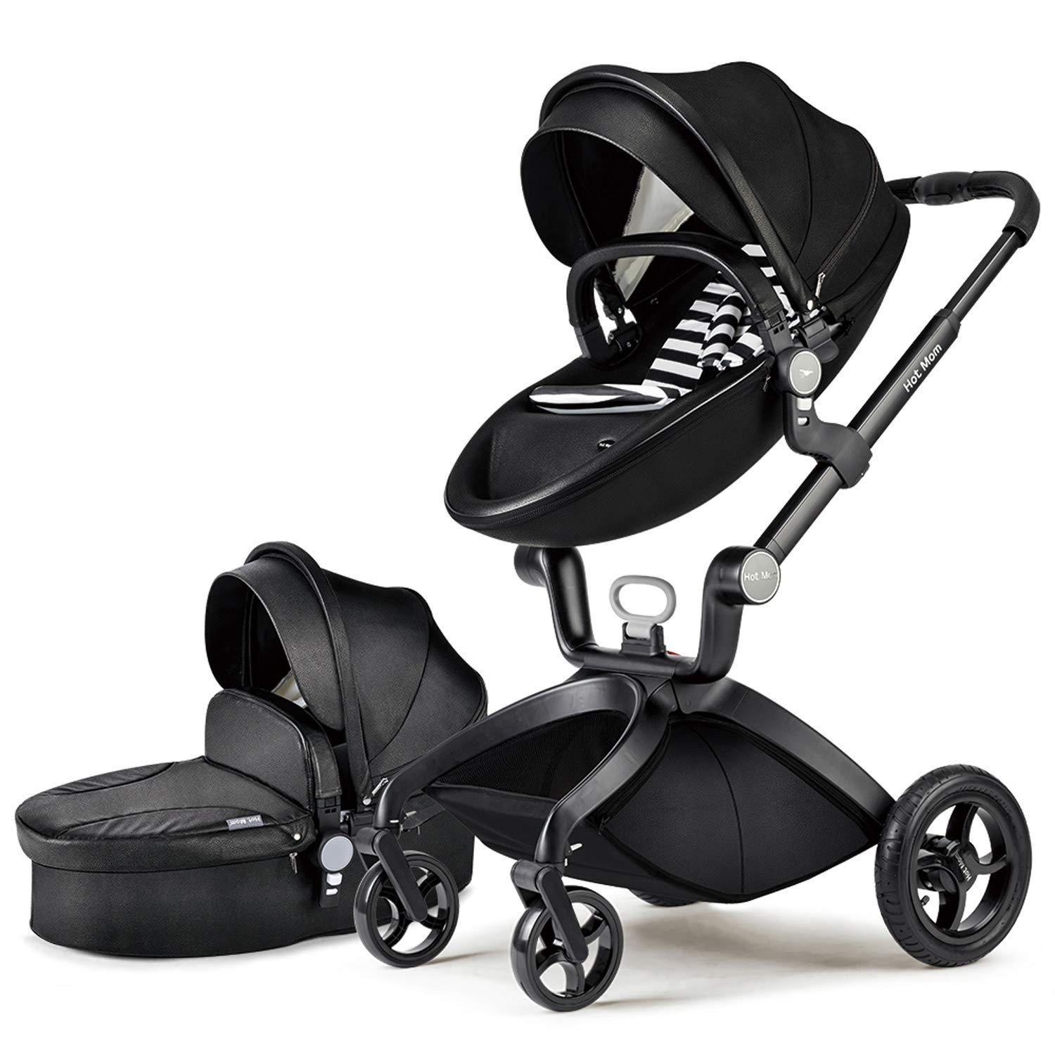 Adjustable Seat Height Stroller