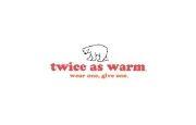 Twice As Warm logo
