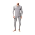 LAPASA Men's Thermal Pajamas Set