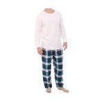 Alexander Del Rossa Men's Thermal Pajamas