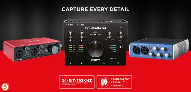 10 Best Budget Audio Interface (Reviews + Buying Guide)