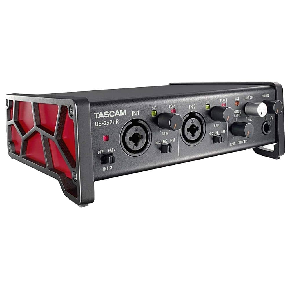 Tascam US-2x2HR 2 Mic 2IN/2OUT High Resolution