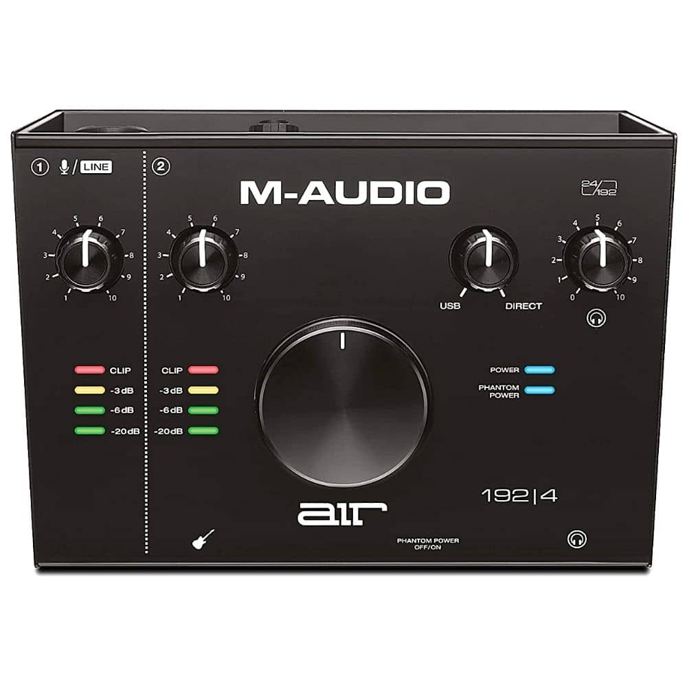M-Audio AIR 192|4 - 2-In/2-Out USB Audio Interface