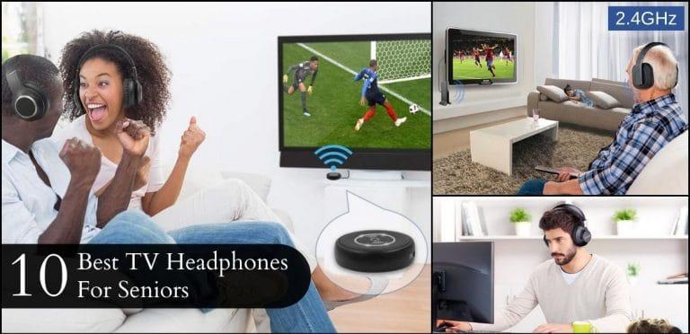 10 Best TV Headphones For Seniors