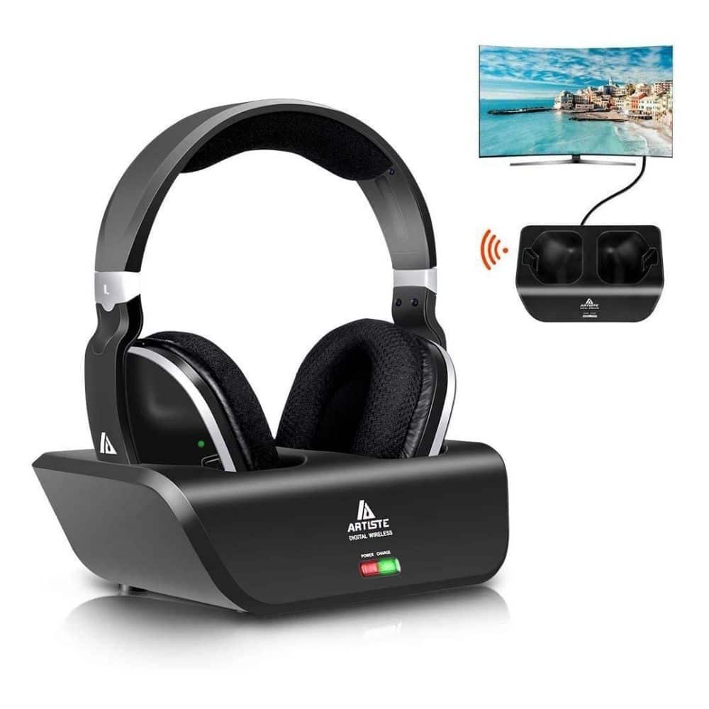 Wireless TV Headphones, Monodeal Over Ear