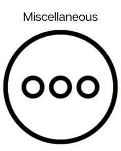 miscellaneous